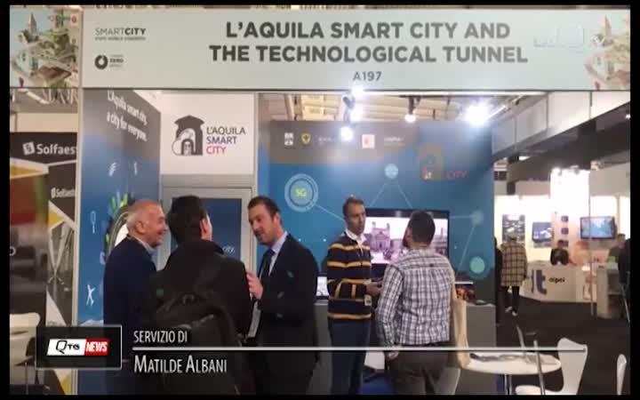 SMART CITY: L'AQUILA AL CITY EXPO DI BARCELLONA