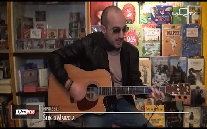 AMELIA PRESENTA A L'AQUILA IL SUO CD