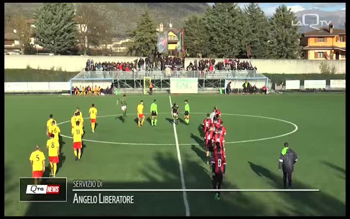 AMITERNINA-L'AQUILA, DERBY PIROTECNICO: FINISCE 2-4