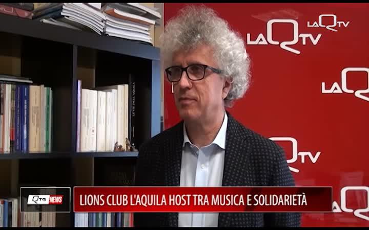 LIONS L'AQUILA HOST TRA MUSICA E SOLIDARIETÀ