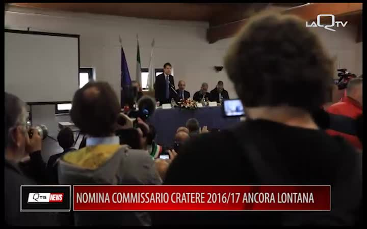 NOMINA COMMISSARIO CRATERE 2016/17 ANCORA LONTANA