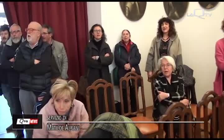 L'AQUILA, 'BELLA CIAO' INTONATA IN CONSIGLIO  COMUNALE