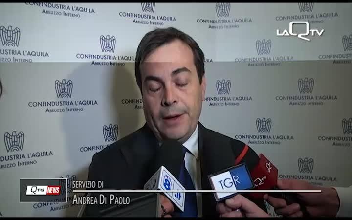 RESTITUZIONE TASSE, MINISTRO AMENDOLA A L'AQUILA