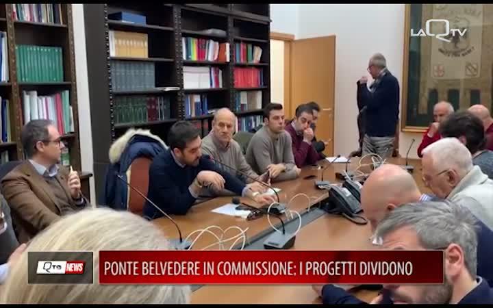 L'AQUILA, PONTE BELVEDERE IN COMMISSIONE:I PROGETTI DIVIDONO