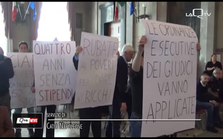 PROTESTA DEL CIAPI IN CONSIGLIO REGIONALE