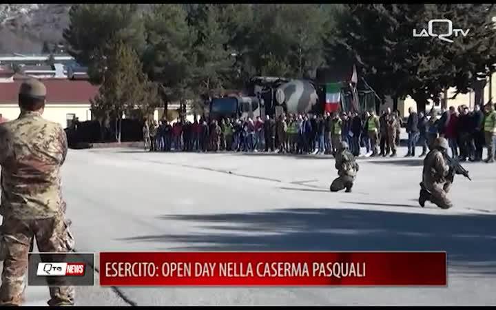 ESERCITO: OPEN DAY CASERMA PASQUALI