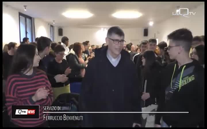 PESCARA, IL PARROCO DELLA 'TERRA DEI FUOCHI' AL DE CECCO