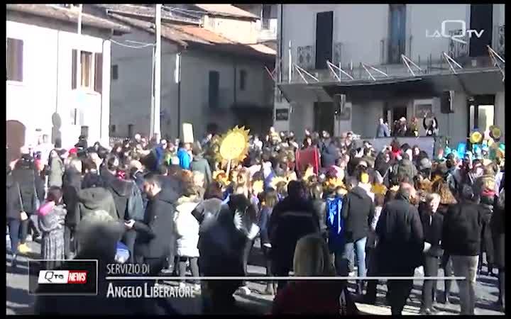 COPPITO (AQ):  CARNEVALE DA MACCHINA DEL TEMPO