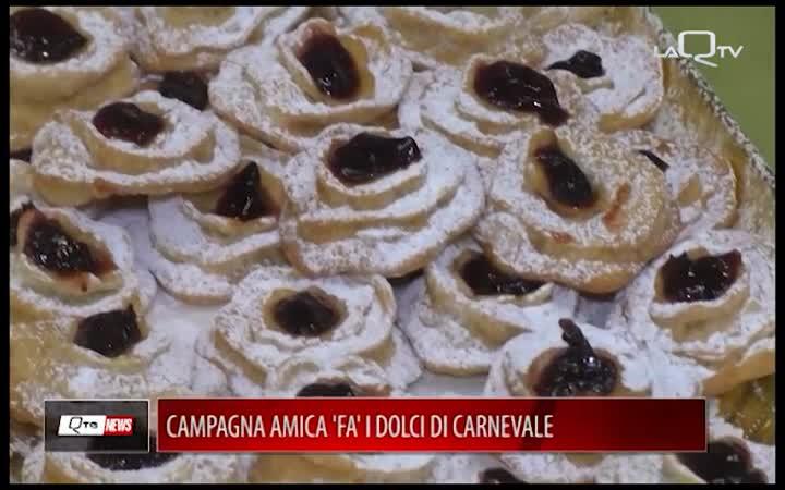 CAMPAGNA AMICA 'FA' I DOLCI DI CARNEVALE