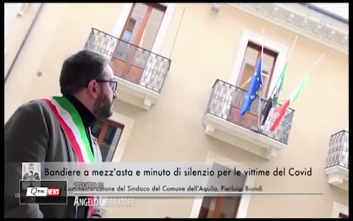 L'AQUILA COMMEMORA LE VITTIME DEL COVID-19