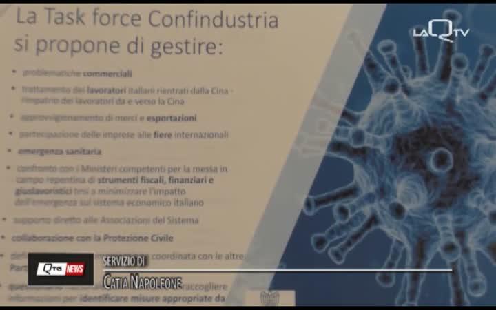 CONFINDUSTRIA CH PE NELL'EMERGENZA CORONAVIRUS