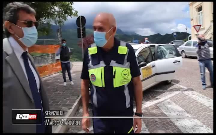 MARSILIO NELLE EX ZONE ROSSE DI PENNE E FARINDOLA