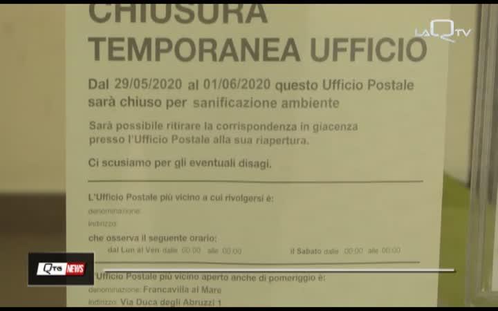 FRANCAVILLA, UFFICIO POSTALE CHIUSO PER COVID