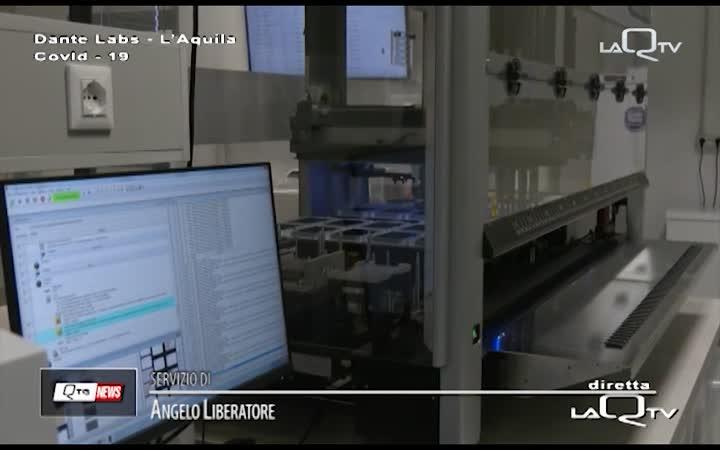 DANTE LABS: LABORATORIO TAMPONI PRONTO A PARTIRE