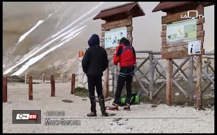 Climber cade sulla Majella: salvato dai tecnici del Cnsas