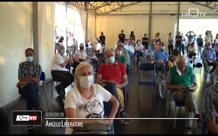 SCOPPITO (AQ): PRESENTATO IL CENTRO DI RACCOLTA COGESA