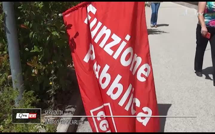 CRITICITÀ SANITÀ REGIONALE: PROTESTA DELLA CGIL