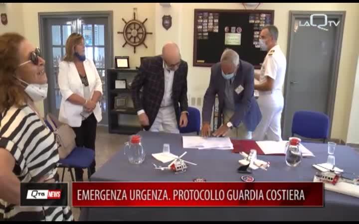 EMERGENZA/URGENZA. ACCORDO GUARDIA COSTIERA-118