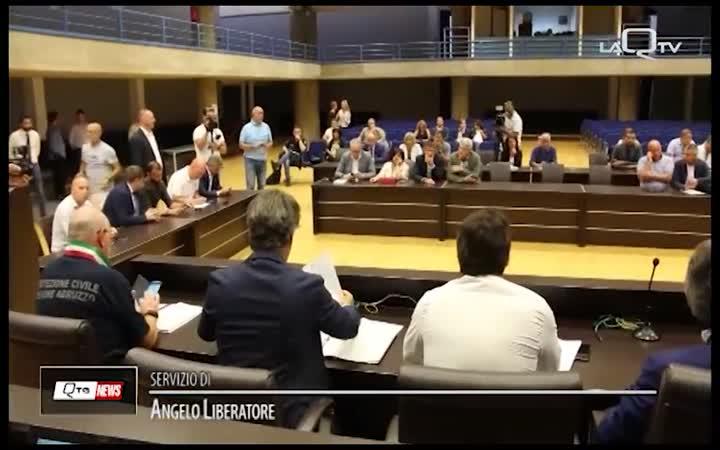 SOSTEGNO ALLE ZONE TERREMOTATE: GOVERNO AL LAVORO
