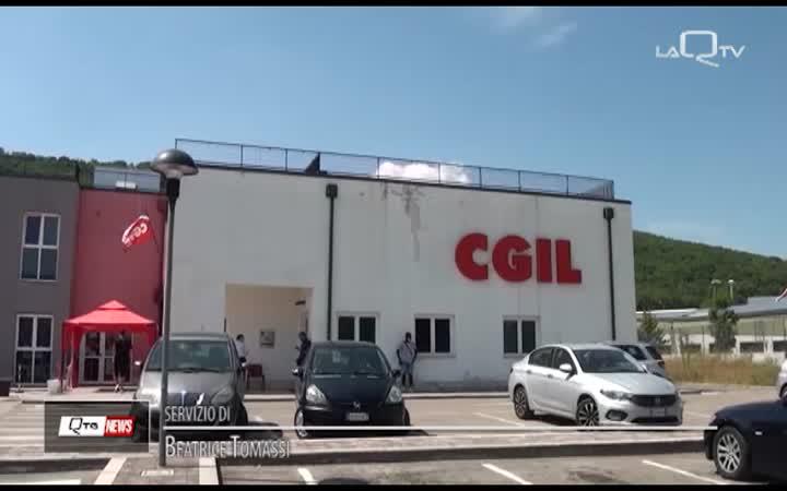 CGIL A CONTE: