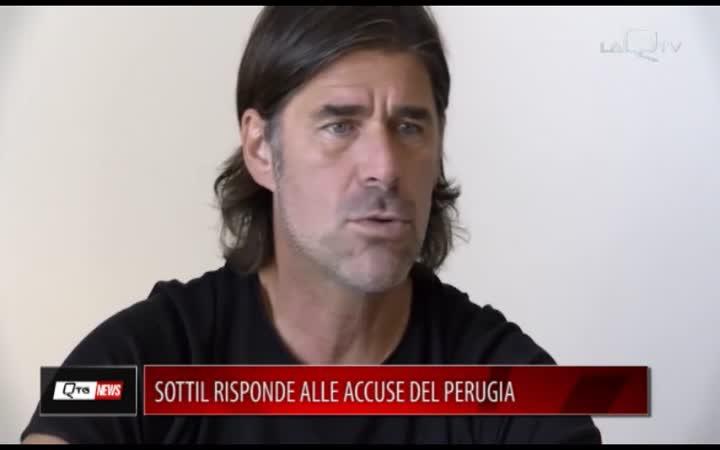 CALCIO, SOTTIL RISPONDE ALLE ACCUSE DEL PERUGIA
