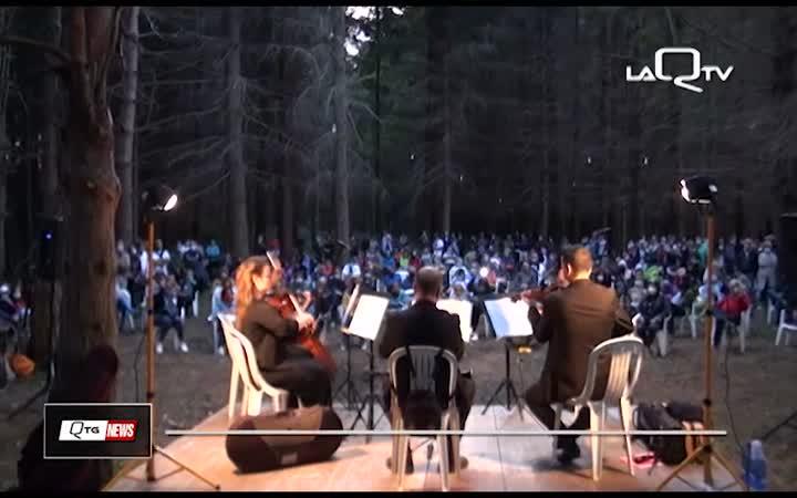 NOTE NEL BOSCO, MUSICA E NATURA A MONTEREALE