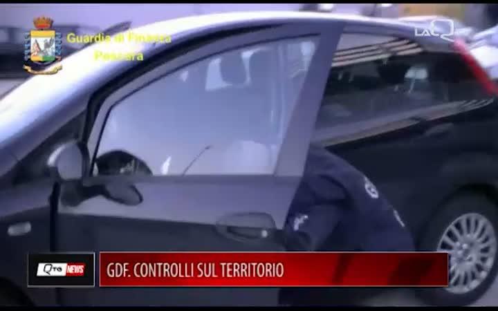 GDF. CONTROLLI SUL TERRITORIO DI PESCARA