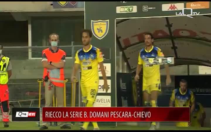 RIECCO LA SERIE B. DOMANI PESCARA-CHIEVO, APERTA A POCHI INTIMI