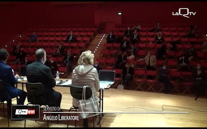 COMUNE L'AQUILA: BILANCIO E DUP, MAGGIORANZA COMPATTA