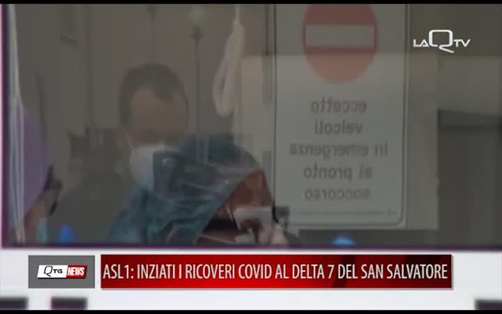 COVID, ASL1: INZIATI I RICOVERI AL DELTA 7 DEL SAN SALVATORE
