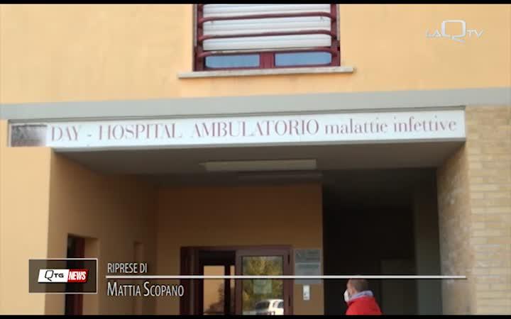 COVID, GRIMALDI: SITUAZIONE A L'AQUILA DIFFICILE