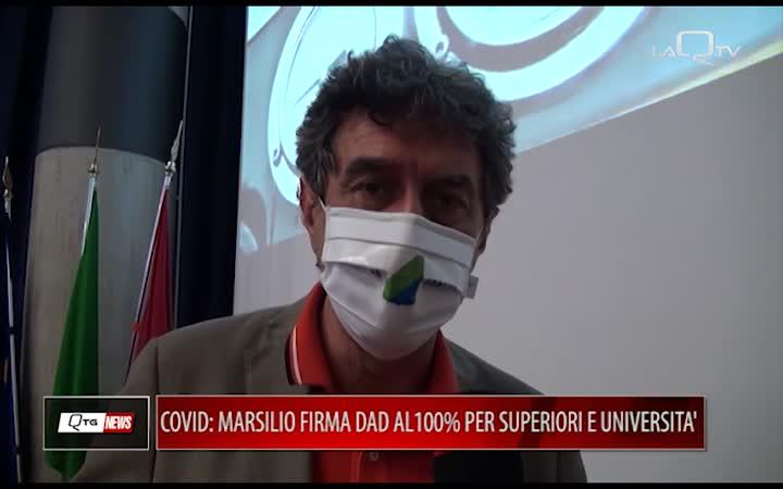 COVID E ISTRUZIONE, MARSILIO FIRMA ORDINANZA: DAD AL 100% PER SUPERIORI E UNIVERSITA'