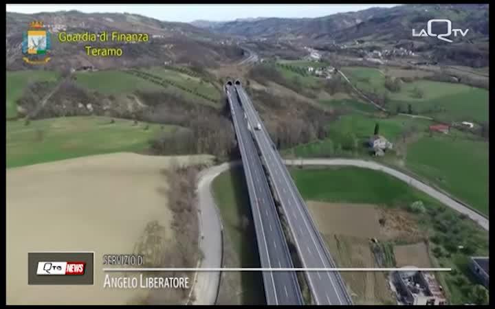 INCHIESTA VIADOTTI A24: GDF TERAMO SEQUESTRA 26 MILIONI DI EURO