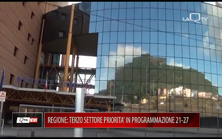 REGIONE: TERZO SETTORE PRIORITA' IN PROGRAMMAZIONE 21-27