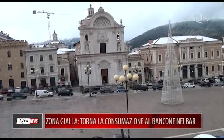 ZONA GIALLA: TORNA LA CONSUMAZIONE AL BANCONE NEI BAR