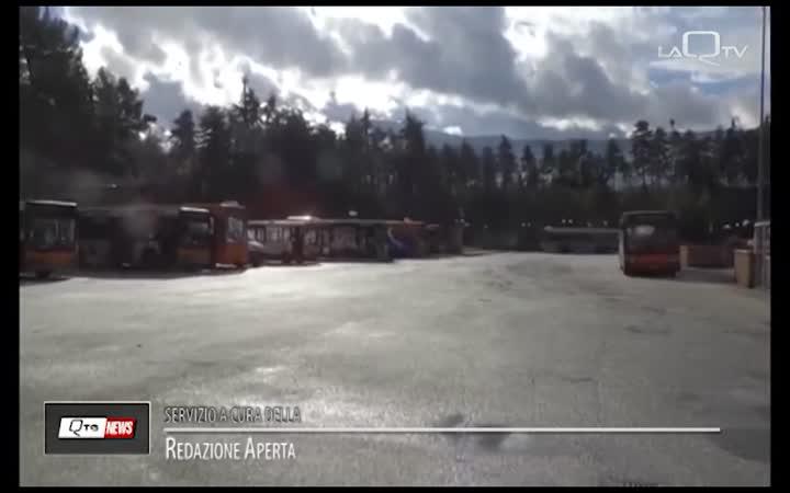 L'AQUILA: VERSO IL COLLEGAMENTO TERMINAL BUS-VIALE RENDINA