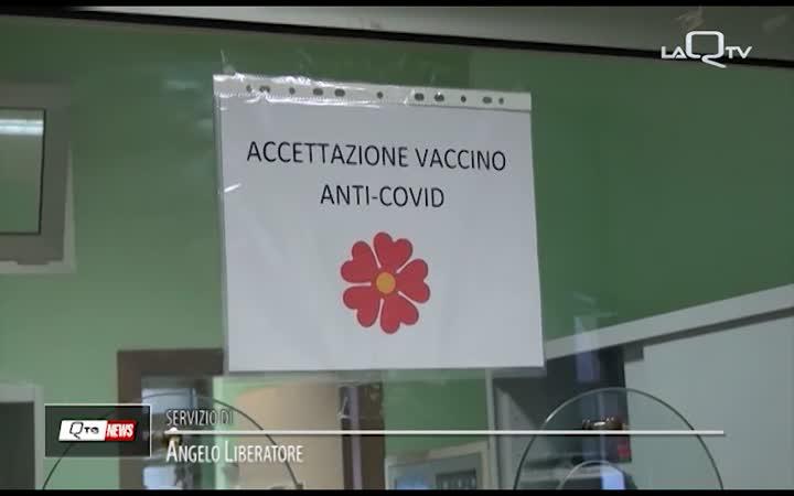 VACCINAZIONI COVID: ABRUZZO SESTO IN ITALIA