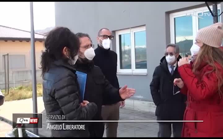 ROIO (AQ): DUE PIETRE D'INCIAMPO PER ANNINA E LUIGI SANTOMARRONE