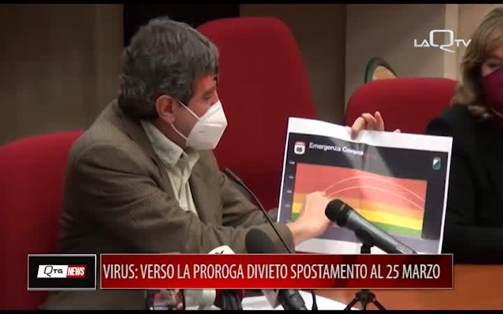 VIRUS: SI VA VERSO LA PROROGA DEL DIVIETO DI SPOSTAMENTO TRA REGIONI AL 25/03