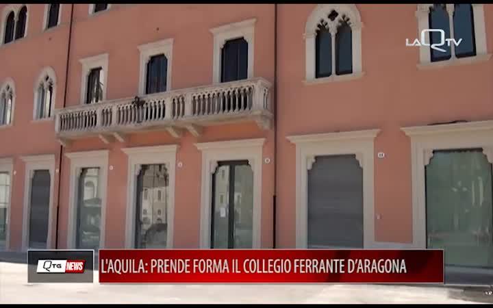 L'AQUILA: PRENDE FORMA IL COLLEGIO FERRANTE D'ARAGONA