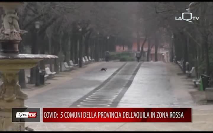 Covid: 5 comuni della provincia dell'Aquila in zona rossa. L'ordinanza firmata da Marco Marsilio