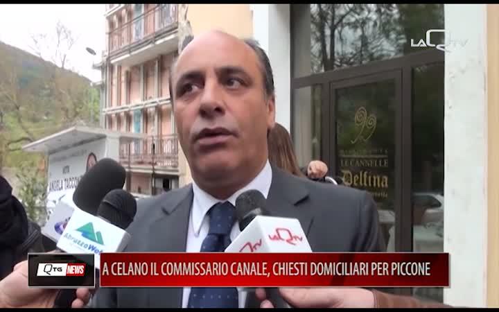 A CELANO ARRIVA IL COMMISSARIO CANALE. CHIESTI I DOMICILIARI PER FILIPPO PICCONE