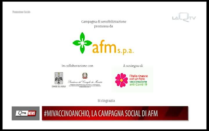 #MIVACCINOANCHIO, LA CAMPAGNA SOCIAL DI AFM