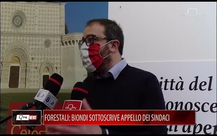 FORESTALI: BIONDI SOTTOSCRIVE APPELLO SINDACI