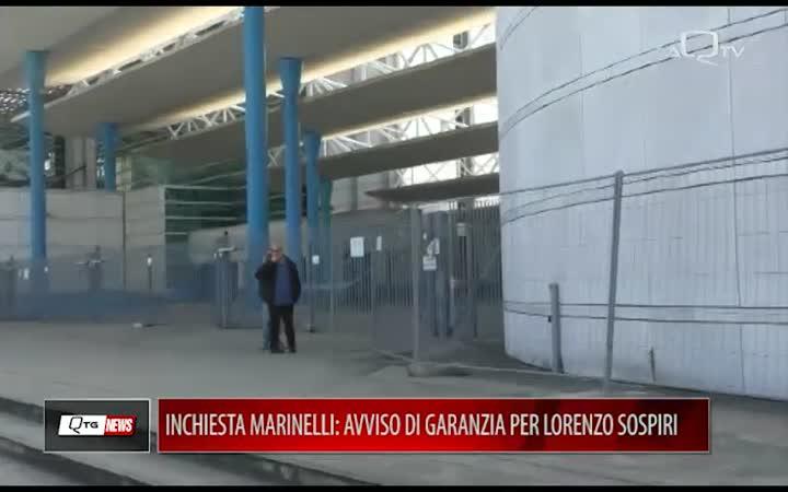Inchiesta Marinelli: avviso di garanzia per Lorenzo Sospiri, perquisita abitazione di Mauro Febbo