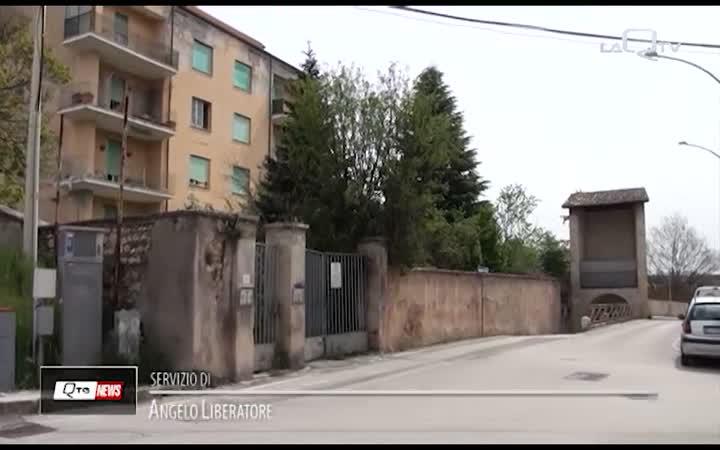 L'AQUILA: PRIMI PASSI PER IL PARCHEGGIO DI PORTA LEONI