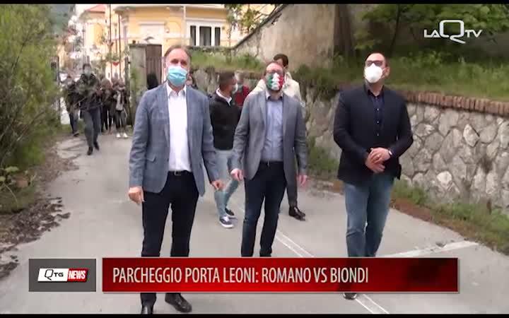 PARCHEGGIO PORTA LEONI: ROMANO VS BIONDI