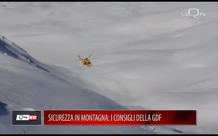 SICUREZZA IN MONTAGNA: I CONSIGLI DEL SOCCORSO ALPINO  DELLA GDF