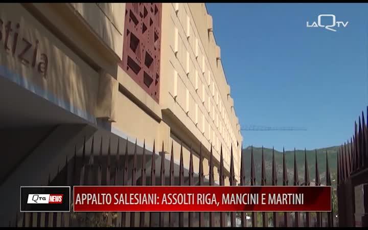 APPALTO SALESIANI: ASSOLTO L'EX VICE SINDACO ROBERTO RIGA