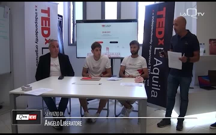 TEDX ARRIVA A L'AQUILA IL 26 GIUGNO